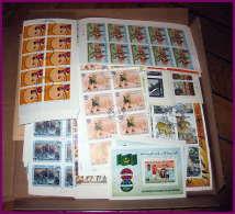 Depart 1 LOT REVENDEUR Lot 4 TB Lot Thématique 1000 Blocs / Séries Complètes  Jeux Olympiques Animaux Napoleon De Gaulle - Stamps