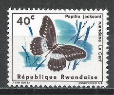 Rwanda 1965. Scott #119 (MNH) Butterfly * - Rwanda