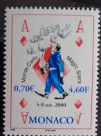 MONACO 2000 Y&T N° 2264 ** - MONTE CARLO MAGIC STARS - Neufs