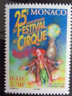 MONACO 2000 Y&T N° 2286  ** - 25e FESTIVAL INTERN. DU CIRQUE DE MONTE CARLO - Neufs