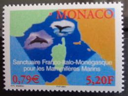 MONACO 2000 Y&T N° 2287 ** - SANCTUAIRE FRANCO-ITALO-MONEGASQUE POUR LES MAMMIFERES MARINS - Monaco