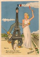 Paris Tour Eiffel-aout 44-illustrateur Jean De Reissac(vannes 44) - Tour Eiffel