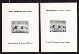 1940 Blok 13-14** Postfris Zonder Scharnier.Muziekkapel Koningin Elisabeth.OBP 21 Euro. - Blocs 1924-1960