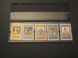 BARBUDA - 1978 INCORONAZIONE 5 VALORI - NUOVI(++) - Antigua E Barbuda (1981-...)