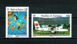 Wallis Y Futuna  Nº Yvert  662/3  En Nuevo - Wallis Y Futuna
