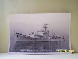 "MILITARIA. LA MARINE. ESCORTEUR RAPIDE L'ALSACIEN.    100_4117""b"" - Warships"