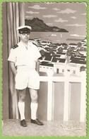 Mindelo - REAL PHOTO - Militar (Fotográfico) - Marinha - Navy - Cabo Verde - Cape Verde