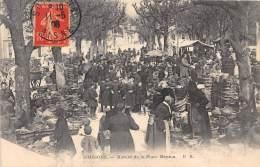 02 - AISNE / Soissons - 023350 - Marché De La Place Menton - Beau Cliché Animé - Soissons