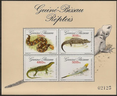 GUINEA - BISSAU 1993 Reptiles - Serpents