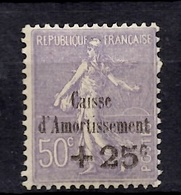 France Caisse D'Amortissement YT N° 276 Neuf ** MNH. Gomme D'origine. TB. A Saisir! - France