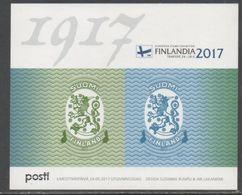 FINLAND, 2017, MNH, COAT OF ARMS, LIONS, SAARINEN, SHEETLET - Stamps