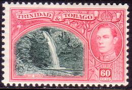 TRINIDAD & TOBAGO 1938 SG #254 60c MLH CV £16 - Trinidad & Tobago (1962-...)