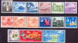 TRINIDAD & TOBAGO 1960-64 SG #284-97 Compl.set MH CV £50 - Trinidad & Tobago (1962-...)