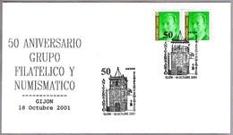 COLEGIATA De SAN JUAN BAUTISTA. Gijon, Asturias, 2001 - Iglesias Y Catedrales