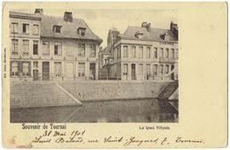 Souvenir De TOURNAI - Le Quai Vifquin - Edit. Nels - Tournai