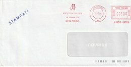 ANTONIO BALDAN - Padova - Anno 1996 - Affrancature Meccaniche Rosse (EMA)