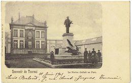 Souvenir De TOURNAI - La Statue Gallait Au Parc - Nels Série 48 N° 13 - Tournai