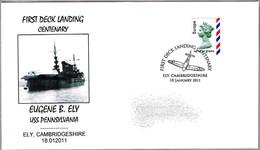 PRIMER ATERRIZAJE EN UN BARCO - EUGENE B. ELY - USS Pennsylvania. Ely 2011 - Aerei