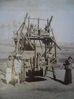 PHOTO RARE Vers 1905 Légendée Amusement Des Arabes En EGYPTE @ 30,9 Cm X 27,2 Cm - Africa