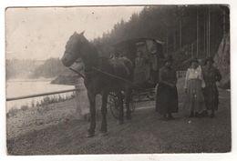 Nr.+  543,  Pferdekutsche Am See, Bei Luban, Polen, Schlesien - Schlesien