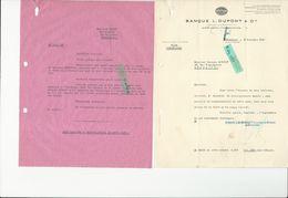 Ref 75/ 33, Bordeaux, Banque Dupont, RARE Bulletin De Renseignements Sur Client Israëlite, 1927 - France