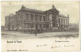 Souvenir De TOURNAI - Le Palais De Justice - Nels Série 48 N° 8 - Tournai