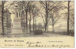 Souvenir De TOURNAI - Le Square Du Mortier - Nels Série 48 N° 7 - Tournai