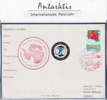 ANTARCTIC, JAPAN, JARE 50, SHOWA, Great Marking +great  Cachet + Vignette !! 30.5-23 - Sin Clasificación