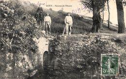 02 - Gouy (Aisne) - Sources De L'Escaut (animée, 1909) - Frankrijk