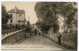 BEAUCOURT Rue Du Courbot - Beaucourt