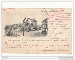 14 HONFLEUR LA LIEUTENANCE ET L HOTEL DE VILLE CPA BON ETAT - Honfleur