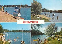 B18-572 : VUES MULTIPLES DE CHATRES SUR CHER - France