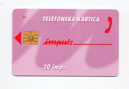 Impulz 20 Imp. Phonecard - Slowenien
