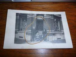 BC5-4-250  Carte Photo Gilly Boucherie Biron (localisée Angle De La Rue Noir Dieu) - Charleroi