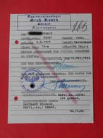 KG Lager GROSS ROSSEN 1944 Genuine Document To BORDEL For Jude. Judaica - Documents Historiques