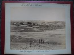 Grande PHOTO De 1899 (en EGYPTE) @ ASSOUAN Cataracte - G Lékégian & Cie N° 1179 - Der Nil Der Cataract - Afrique