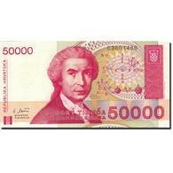 Billet, Croatie, 50,000 Dinara, 1991-1993, 1993-05-30, KM:26a, NEUF - Croatie