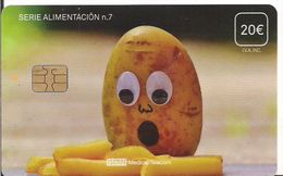 TARJETA TELEFONO Y TV  ISERN ALIMENTACION 7 - Tarjetas Telefónicas
