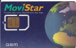 TARJETA GSM MOVISTAR GSMT-031 TIERRA - Tarjetas Telefónicas