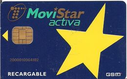 TARJETA GSM MOVISTAR GSMA-017 MUY ANTIGUA - Tarjetas Telefónicas