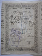Credit Foncier SUISSE 1868 - Banque & Assurance