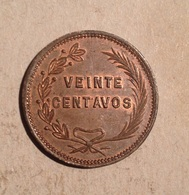 TOKEN JETON GETTONE SPAGNA HACIENDA VENECIA 20 CENTAVOS - Monétaires/De Nécessité