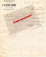 59- MALO LES BAINS- RARE LETTRE MANUSCRITE SIGNEE A. PYLLYSER CORTIER- 3 RUE DE SAINT QUENTIN- 1904 - Old Professions