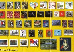 Croatia 2017 / Prospectus, Leaflet, Brochure / Vote For The Most Beautiful Stamp - Croatia