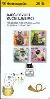 Croatia 2018 / Prospectus, Leaflet, Brochure / Children's World / Pets / Cats - Croatie