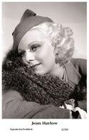 JEAN HARLOW - Film Star Pin Up PHOTO POSTCARD - 6-269 Swiftsure Postcard - Unclassified