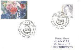 ITALIA - 2000 CROTONE Sulla Via Del Giubileo, La Bibbia Di Marc Chagall (stemma) - 1397 - Christianisme