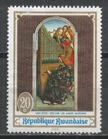 Rwanda 1969. Scott #281 (M) Painting, Angels' Concert By Van Eyck * - Rwanda