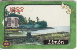 COSTA RICA - Limon, ICE Tel Telecard, 07/01, Used - Costa Rica