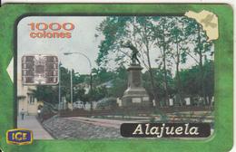 COSTA RICA - Alajuela, ICE Tel Telecard, 07/01, Used - Costa Rica